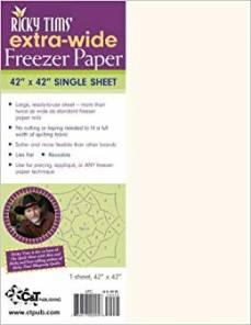 Freezer paper single sheet