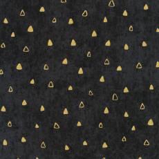 Gustav Klimt - triangle black gold