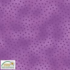 Quilters Basic Twist stars purple