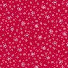 Scarlett Romance red floral