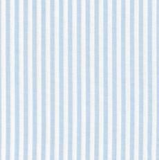 Capri hellblau weiß Stripe