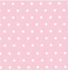 Capri rosa weiß Stars