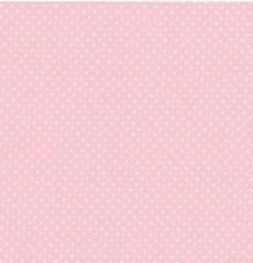 Capri rosa weiß Minidots