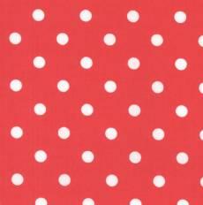 Capri beschichtet rot weiß dots