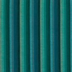Kaffe Fassett Woven multi stripe deep sea