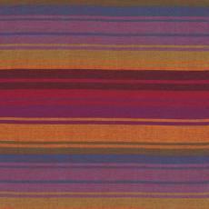 Kaffe Fassett Woven multi stripe exotix purple