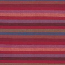 Kaffe Fassett Woven multi stripe narrow red