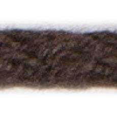 Kordel 3 mm geflochten braun