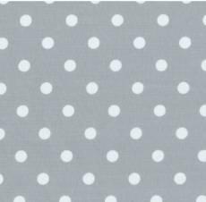 Lyon hellgrau weiß Dots