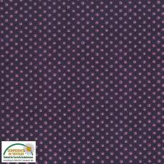 Quilters Basic dots  dark purple