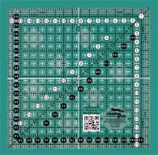 Creative Grids Non-Slip Ruler 16,5 x 16,5 cm