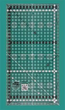 Creative Grids Non-Slip Ruler 16,5 x 31,5 cm
