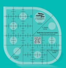 Creative Grids Non-Slip Multisize Curved Corner Cutter
