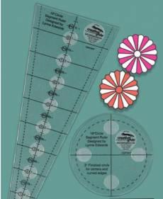 Creative Grids Non-Slip 18° Dresden Plate Ruler