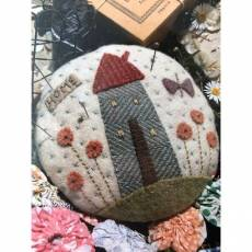 Hatched and Patched- My Home Pincushion