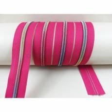 Endloreißverschluss brilliant  pink -multicolor