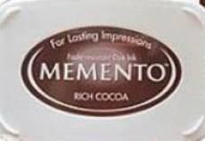 Quiltstempel Stempelkissen Rich Cocoa