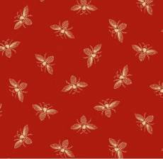 Riviera rose bees red