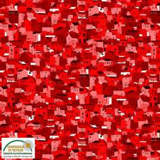 Quilters Coordinates house red
