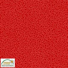 Quilters Coordinates star red