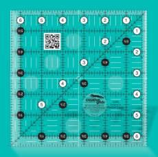 Creative Grids Non-Slip Ruler 6,5 x 6,5 inch