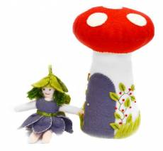 CL -  Blumenfee mit Pilzhaus
