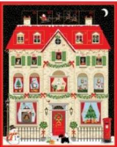 Adventskalender House Panel
