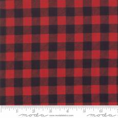 Holiday Lodge Checker Red Black