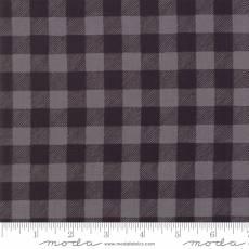 Holiday Lodge Checker Grey Black