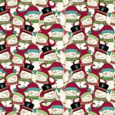 Holly Jolly Christmas Snowmen