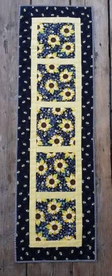 Tischläufer Sunflower Bees