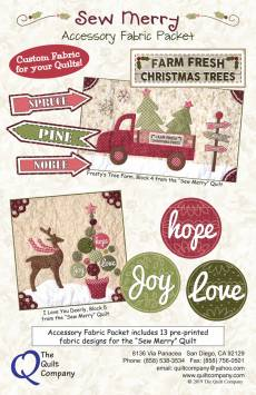 Sew Merry Accessory Fabric Kit