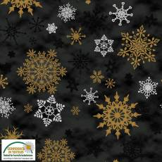 Christmas Wonders Black snow