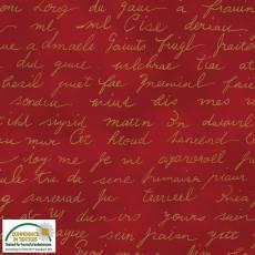 Christmas Wonders Red script