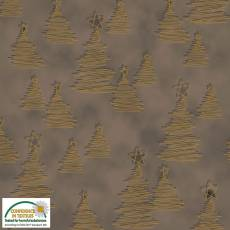 Christmas Wonders Taupe trees
