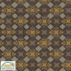 Christmas Wonders Taupe multi star