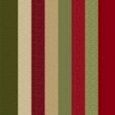 Patches of joy Stripe red green