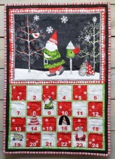Winter Gnomes Adventskalender Panel