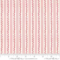 Bunny Hill - My Redwork Garden stripe