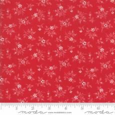 Bunny Hill - My Redwork Garden fleur red