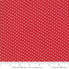 Bunny Hill - My Redwork Garden square red