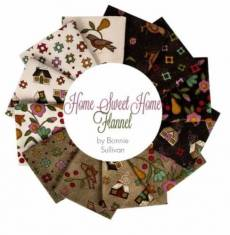 Charm Pack Maywood Home Sweet Home Flannel