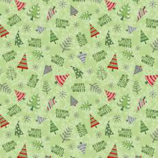 Winter Gnomes Tree green