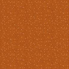 Quilters Basic Solaire dots pumpkin