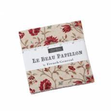 Le beau papillion - Charm Pack
