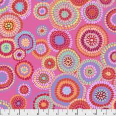Kaffe Fassett Mosaic circles pink