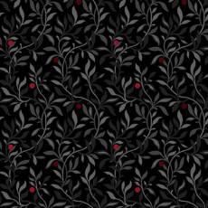 Berry vine white black multi
