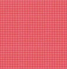 Rosenborg Vichy-Karo rot-pink