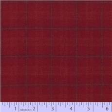 Primo plaid Flanell checker red