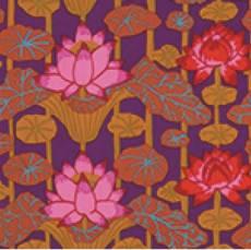 Kaffe Fassett lotus red